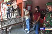 Petugas Tertibkan Warung Bandel Yang Layani Pelanggan Di Tempat