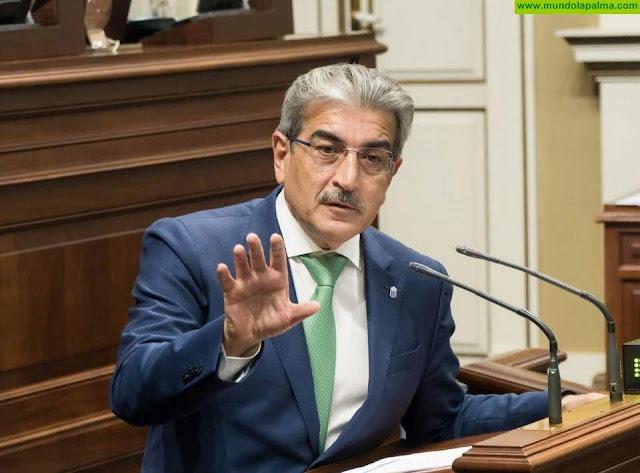 Rodríguez insiste en la necesidad de un mayor compromiso de Europa y Madrid con Canarias por las singularidades de su modelo productivo