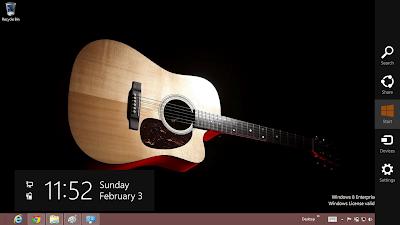 download gratis tema windows 7 acoustic guitar theme for windows 8. Black Bedroom Furniture Sets. Home Design Ideas