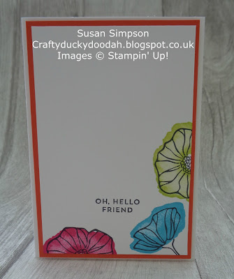 Stampin' Up! UK Independent  Demonstrator Susan Simpson, Craftyduckydoodah!, Oh So Eclectic, Stukely Meadows FGT, Supplies available 24/7 from my online store,