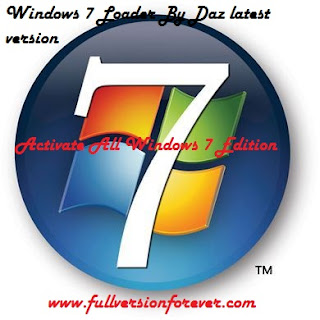 How to activate Windows 7 All Edition by Daz Permanent full version