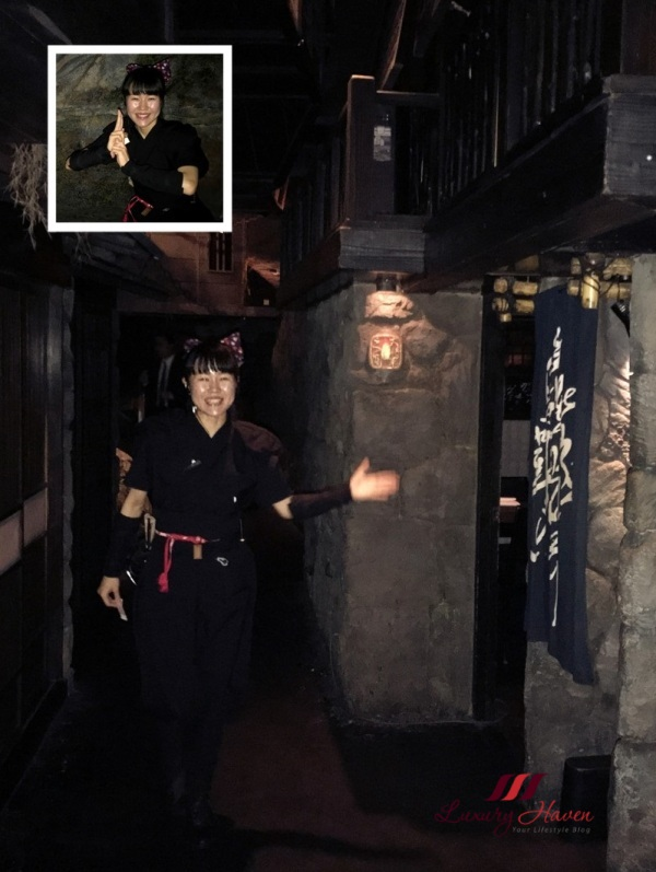 japanese best themed restaurant ninja waiters