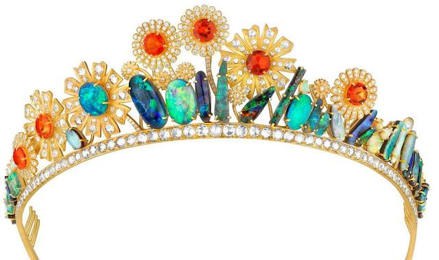 Joanna Newsome opal tiara irene neuwirth