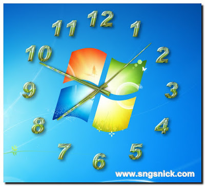 TheAeroClock 3.99 - Еще один пример вида часов