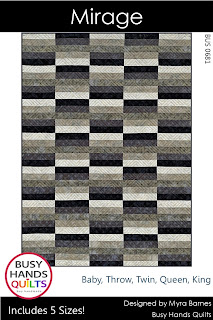 Mirage Quilt Pattern by Myra Barnes of Busy Hands Quilts