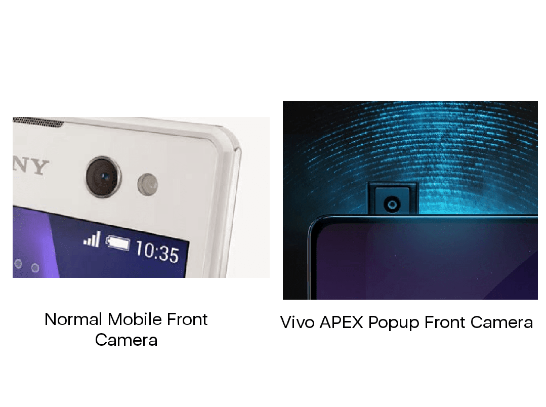 Vivo APEX Half Screen Fingerprint Smartphone Batch Production
