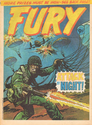 Marvel UK, Fury #5
