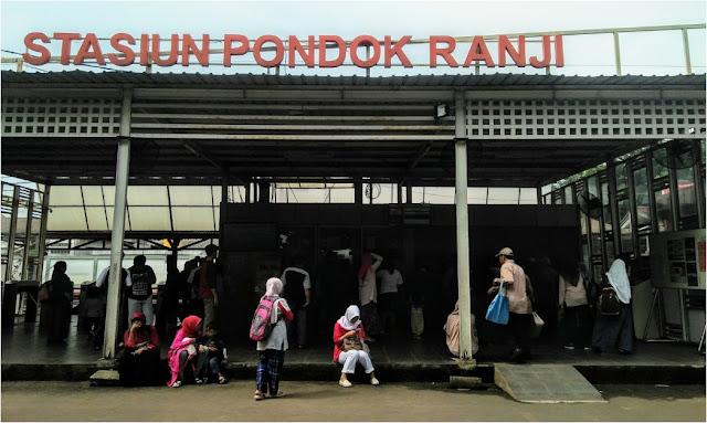 Stasiun Pondok Ranji - Jadwal KRL Pondok Ranji