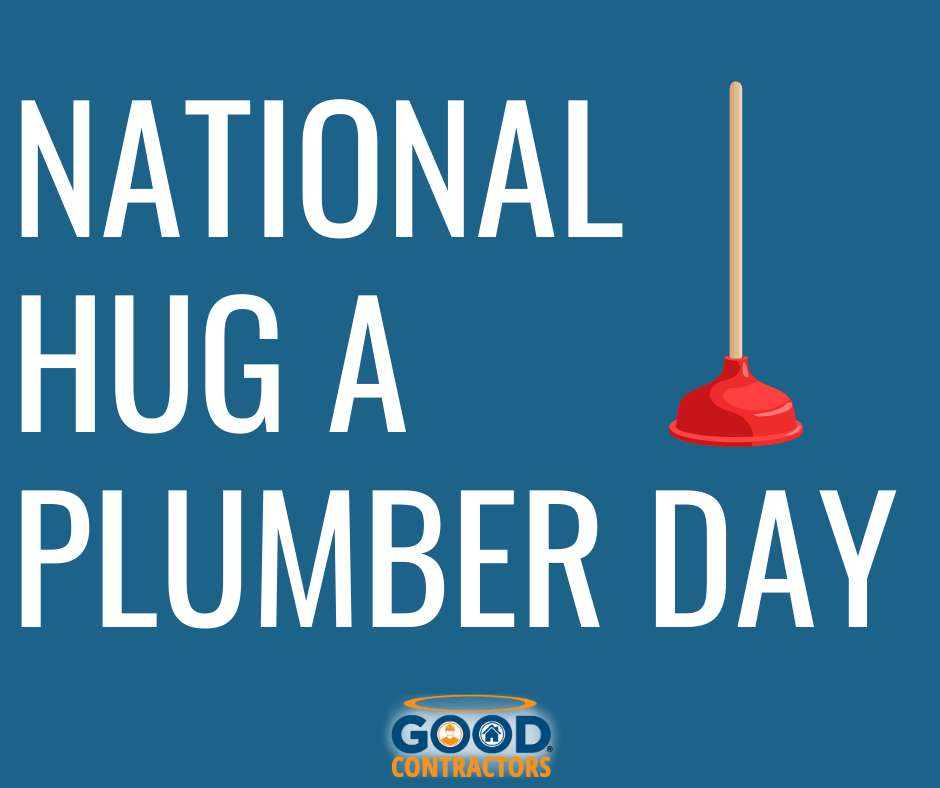 National Hug a Plumber Day Wishes Beautiful Image