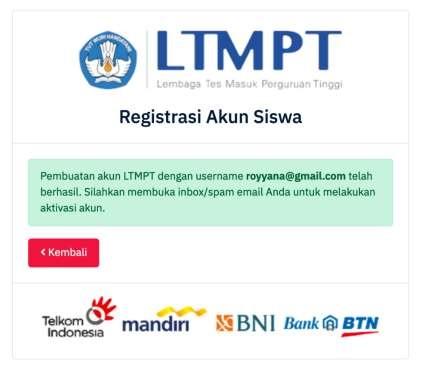 aktivasi akun siswa ltmpt tahun 2021 tomatalikuang.com