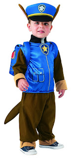 Paw Patrol Chase Costume - Amazon.ca Halloween Store