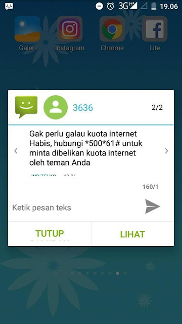 cara transfer kuota telkomsel