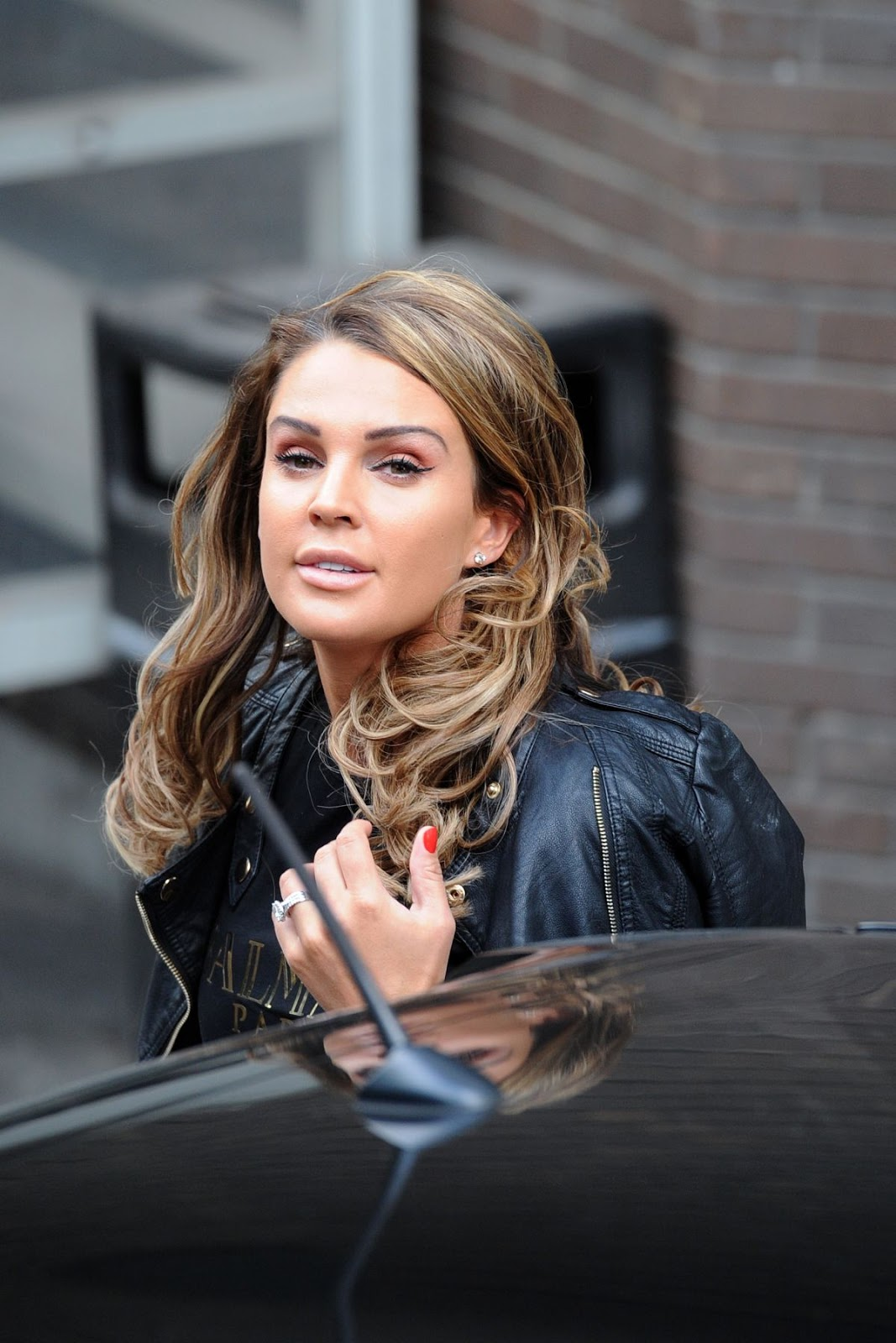 HD Photos of Ex Miss England Danielle Lloyd At Itv Studios In London