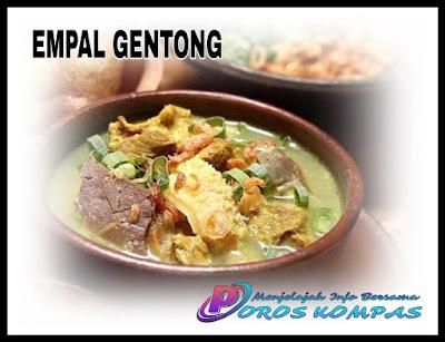 Empal Gentong Haji Apud Khas Cirebon