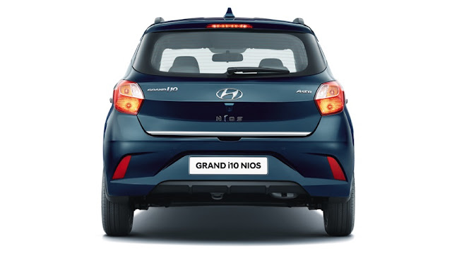 Grand i10 NIOS rear portion
