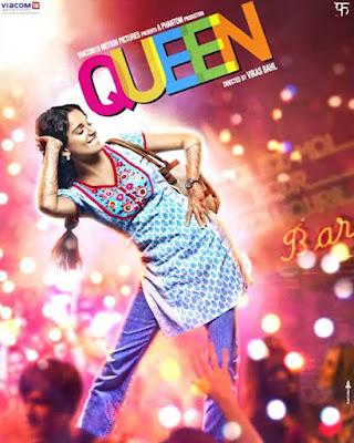 Download Queen (2013) Hindi Full Movie BluRay    720p [1.2GB]   1080p [2.3GB]