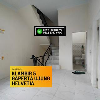 Ruang Keluarga Rumah Murah Ready 2,5 Lantai Hanya 400 Jutaan Komplek Anissa Lala Klambir 5 Gaperta Ujung Helvetia Medan
