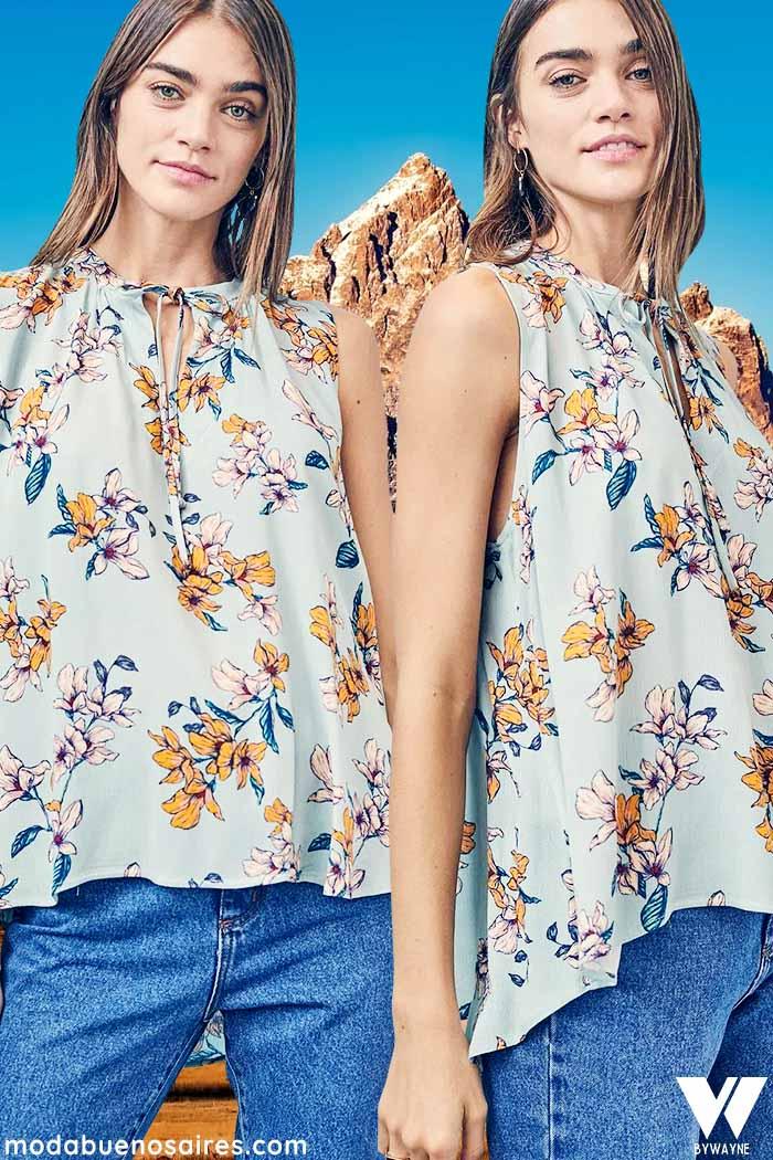 moda mujer invierno 2021 adelanto primavera verano 2022