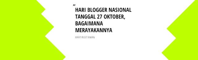Banner Hari Blogger