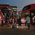 Buser inaugura trecho de ônibus com passagem a partir de R$ 50 e primeira viagem gratuita partindo do Posto 13, em Nova Iguaçu, com destino a SP