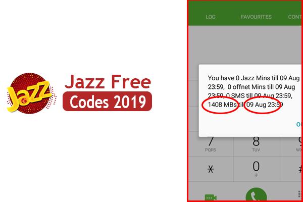 Jazz Free Internet Code 2019 - Official Jazz Free Internet