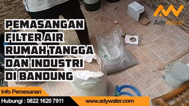 jasa pemasangan filter air untuk toren tandon