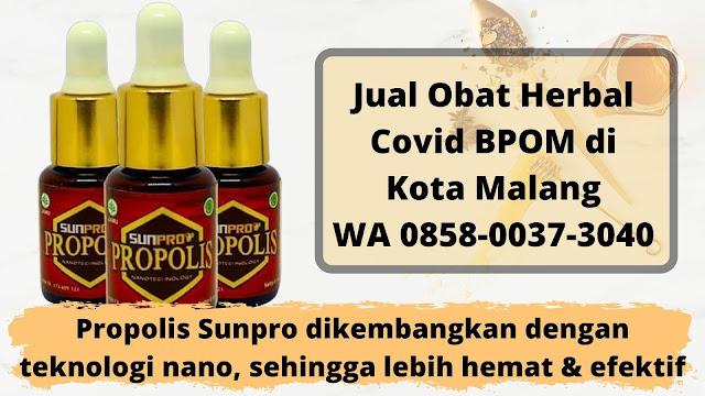 Jual Obat Herbal Covid BPOM di Kota Malang WA 0858-0037-3040
