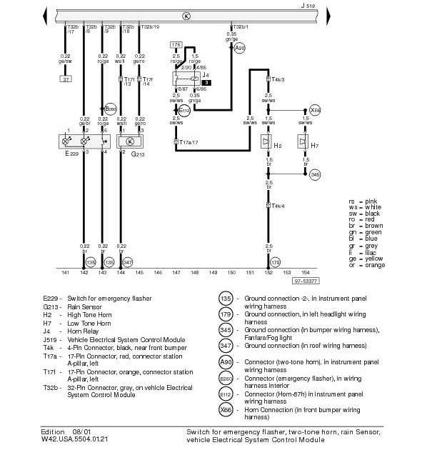 Audi A4 B5 Wiring Diagram | Owner guide manual