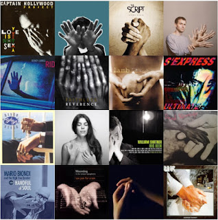 16 album covers featuring hands on them - part 4