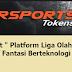 "'' PokerSport "" Platform Liga Olahraga eSports Kompetitif Fantasi Berteknologi Blockchain"
