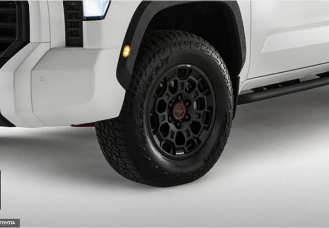 Velg dan Ban Toyota Tundra 2022