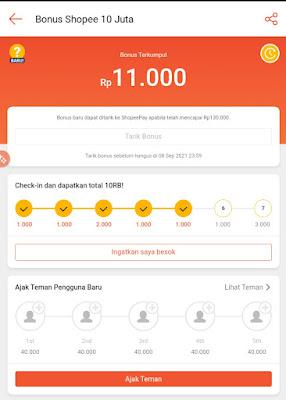 Dapat Hadiah Instal Shopee Sampai 10 juta Rupiah