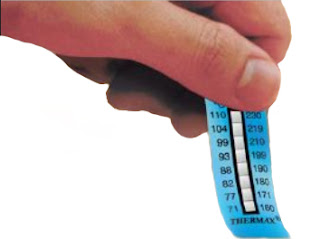 THERMAX 10 LEVEL TEMPERATURE STRIPS B