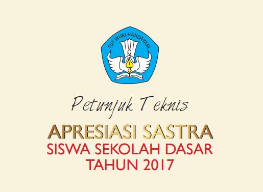 Juknis Apresiasi Sastra Siswa SD 2017