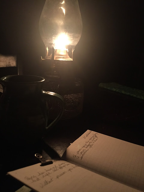 The Porch Postscript - Stories From Our Alaskan Life - The Power Outages