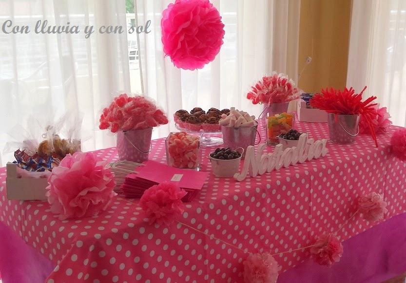 Con Lluvia Y Con Sol Letras De Madera Para Candy Bar Comunion De
