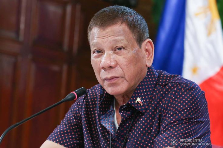 Duterte tells Filipinos to persevere amid COVID-19 pandemic