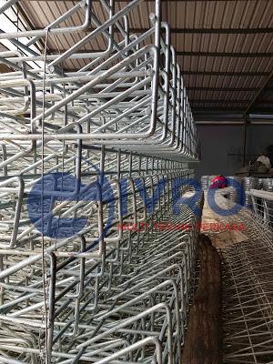 Pabrik Pagar BRC Galvanis Jakarta Timur