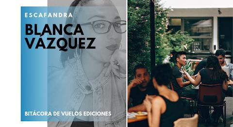 ESCAFANDRA Los límites del lenguaje | Blanca Vázquez