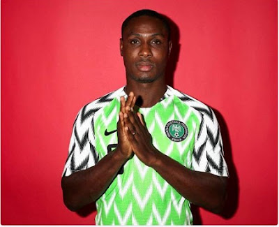 Super Eagles player Ighalo begs for forgiveness after missing big opportunity