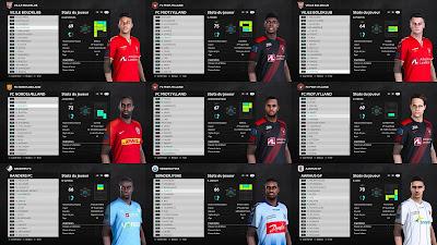 PES 2021 3F Superliga Facepack