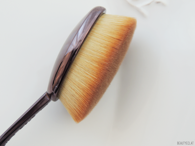 revue avis test artis brush pinceau elite smoke oval 7 demonstration