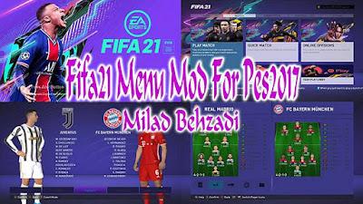 NEW Graphic Menu Like FIFA 21