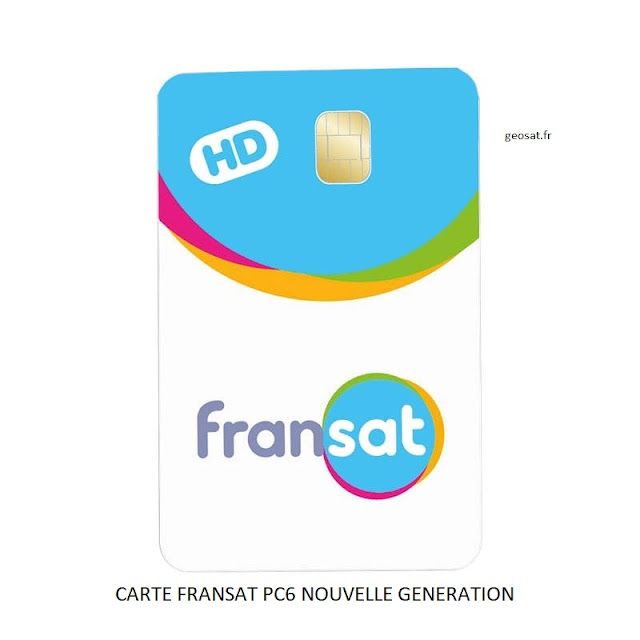 Carte FRANSAT PC6