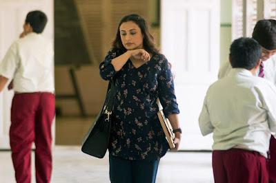 Rani Mukerji dalam filem hichki