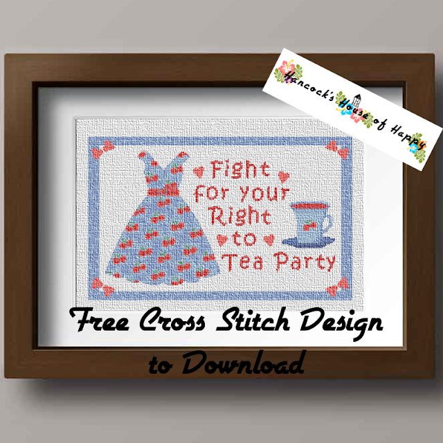 Fight for Your Right to TEA Party Free Tea Themed Cross Stitch Pattern to Download, tea party cross stitch, tea dress cross stitch, tea party dress cross stitch, tea theme cross stitch, funny cross stitch, cross stitch funny, subversive cross stitch, cross stitch home, cross stitch design, diy cross stitch, adult cross stitch, cross stitch patterns, cross stitch funny subversive, modern cross stitch, cross stitch art, inappropriate cross stitch, modern cross stitch, cross stitch, free cross stitch, free cross stitch design, free cross stitch designs to download, free cross stitch patterns to download, downloadable free cross stitch patterns, darmowy wzór haftu krzyżykowego, フリークロスステッチパターン, grátis padrão de ponto cruz, gratuito design de ponto de cruz, motif de point de croix gratuit, gratis kruissteek patroon, gratis borduurpatronen kruissteek downloaden, вышивка крестом, tea pot cross stitch pattern, tea cross stitch, tea lovers cross stitch design, gifts for tea lovers