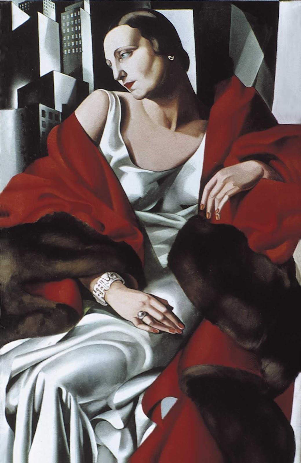 Tamara  de  Lempicka C  Portrait  of  Madame   oucard C