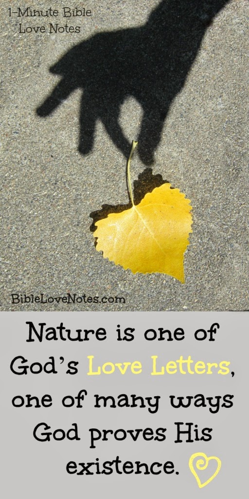 Nature, God's Beauty in Creation, God's Message, Psalm 19:1-2