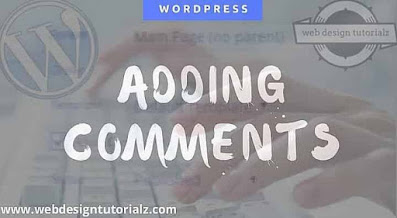 Adding Comments in WordPress