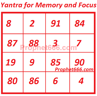 Yantra for Memory and Focus in children